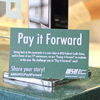 MSUFCU Pay It Forward