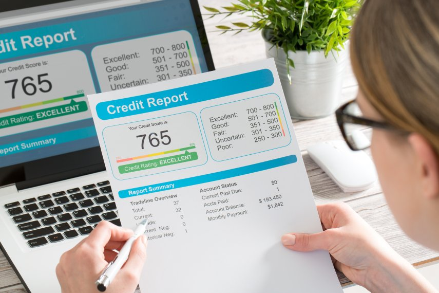 Credit Reports and Scores Quiz