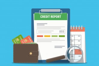 View Infographic: Credit Report Timeline