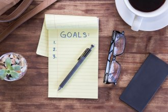 View Infographic: Tips for Setting Goals