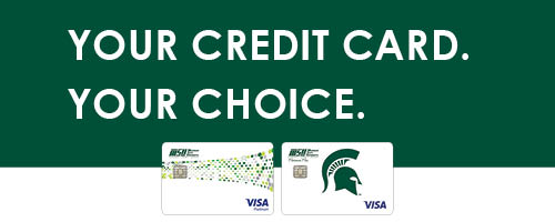 You Credit Card. Your Choice.