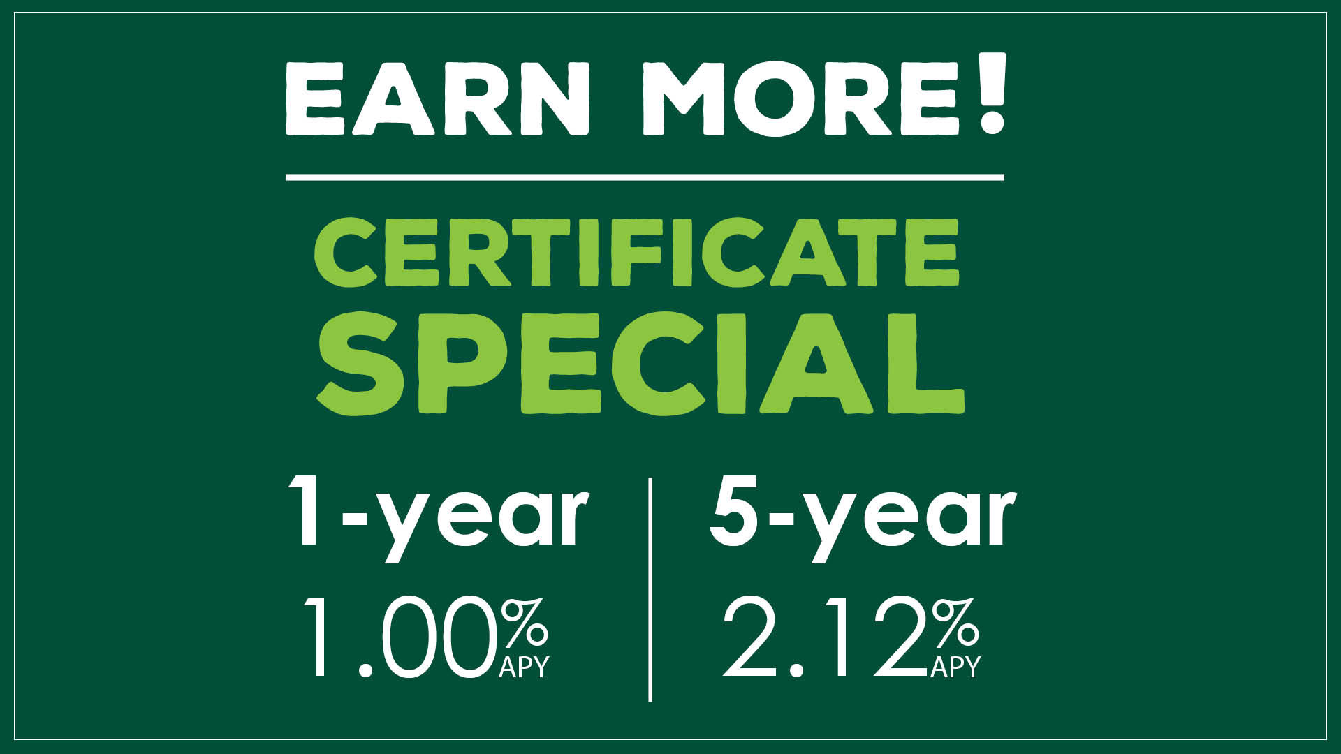 Limited-Time Offer: Earn More with an MSUFCU 7-Year Certificate