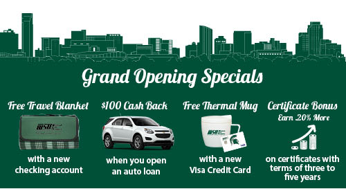 Celebrate our expansion with Grand Opening Specials