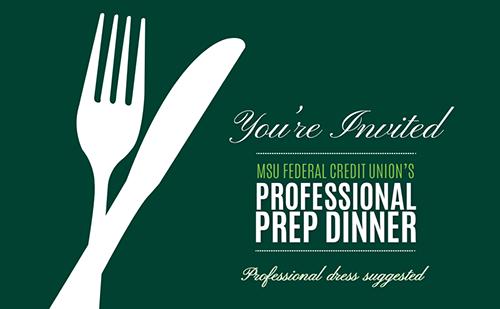 MSUFCU's Professional Prep Dinner
