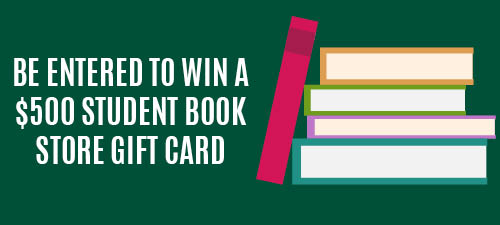 Be entered to win a free semester of books!
