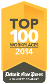 MSUFCU Voted #1 Top Workplace by Detroit Free Press in 2014