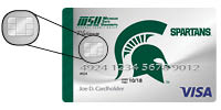 MSUFCU Visa Card with Chip