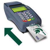 Insert Card into Card Terminal