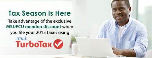 MSUFCU's Online Tax Center