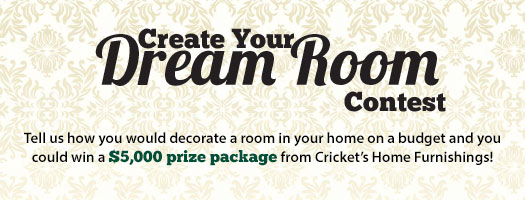 Create Your Dream Room Contest