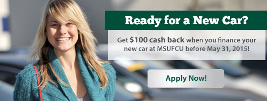 Limited-Time Offer: $100 Cash Back with Auto Loan