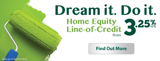 Dream it. Do it. Home Equity from 3.25%APR.