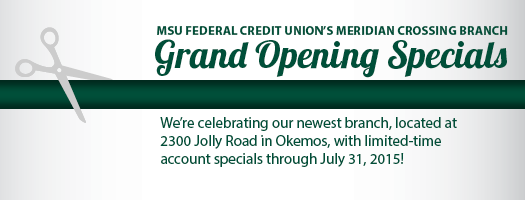 Grand Opening Specials�July 1-July 31