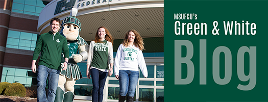 Visit MSUFCU's New Green & White Blog