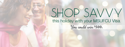 Shop Savvy with Your MSUFCU Platinum Plus This Holiday Season