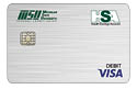 MSUFCU HSA Checking Visa Debit Card