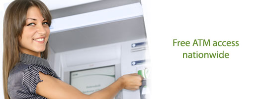 Free ATM access nationwide