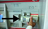 ATM card scanning device photo