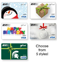 Visa Gift Card styles