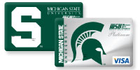 Michigan State University Affinity Credit Cards