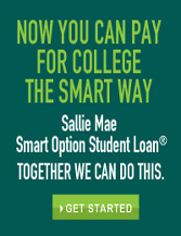 Now You Can Pay for College the Smart Way: Sallie Mae Smart Option Student Loan