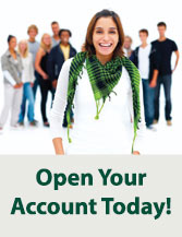 Open an account today!