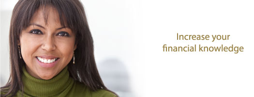 Increase your financial knowledge
