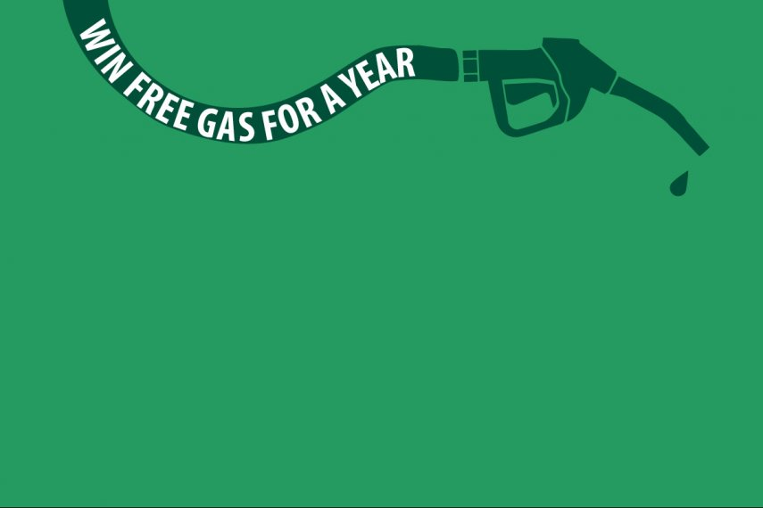 Be Entered to Win Free Gas >