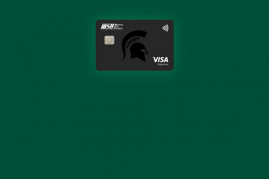 With a Visa Signature Credit Card